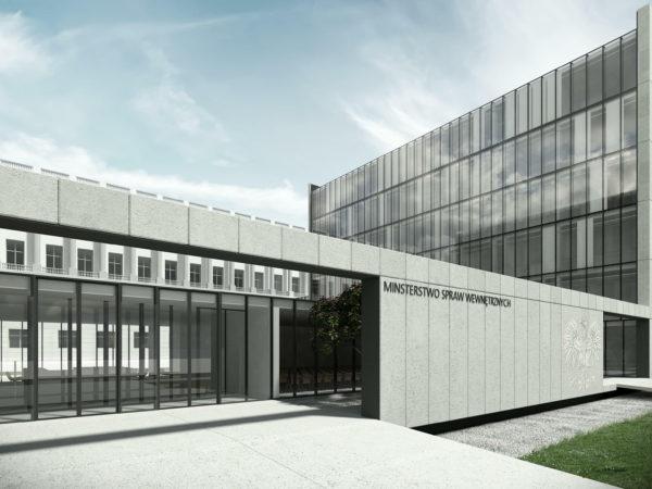 Rozbudowa MSW Warszawa